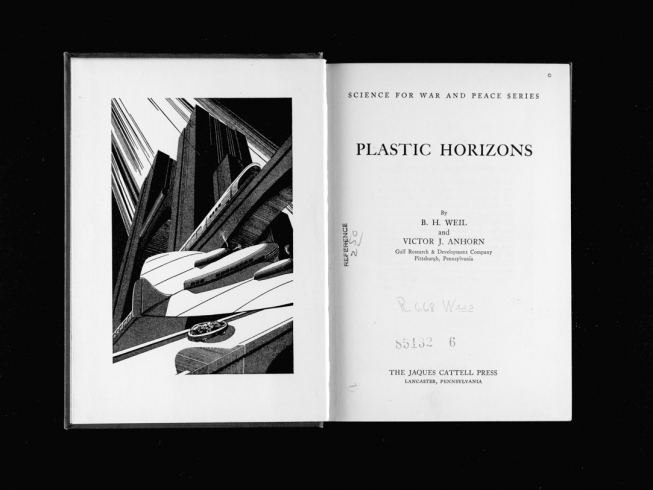 Katrin Hornek Title Word on Plastic*s, Los Angeles Public Library